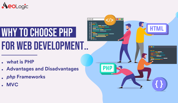 PHP for Web development.