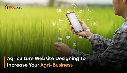 Agriculture Website Designing